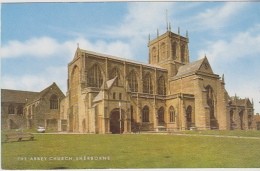 Postcard - The Abbey Church, Sherborne - Card No.1-54-14-01 - VG - Unclassified