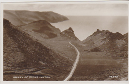 Postcard - Valley Of The Rocks, Lynton - Card No. 75777 - VG - Unclassified