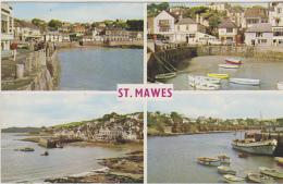 Postcard - St. Mawes - 4 Views - Card No. PLC429 - VG - Unclassified