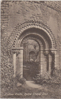 Postcard - Ludlow Castle, Round Chapel Door - VG - Unclassified