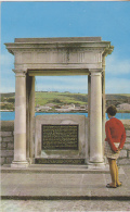 Postcard - The Mayflower Memorial, Plymouth - Card No. 1957 - VG - Unclassified