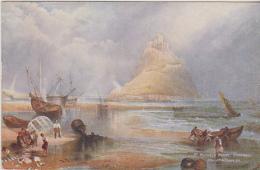 Postcard - Art - J.M.W. Turner RA - St. Michael's Mount, Cornwall - VG (Tuck Card) - Unclassified