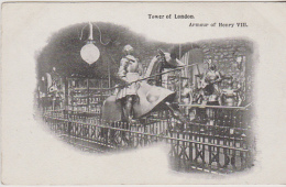 Postcard - Tower Of London - Armour Of Henry VIII - VG - Unclassified