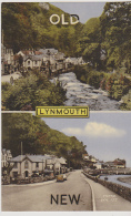 Postcard - Lynmouth - 2 Views, Old And New - Frith Card No. LYH.139 - VG - Unclassified