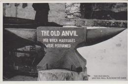 Postcard - The Old Anvil, Gretna Hall Blacksmiths Shop - VG - Unclassified