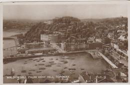 Postcard - Waldon Hill From Vane Hill, Torquay - VG - Unclassified