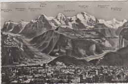 Postcard - Berner Oberland - Card No. 1451 - VG - Unclassified
