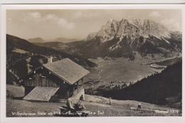 Postcard - Wolfratshausener Hutte Mit Blick Auf Zugspitze  2964m Tirol - Monopol 6878 - VG - Unclassified