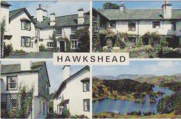 Postcard - Hawkshead - 4 Views  - Card No. KLD 369 - VG - Unclassified