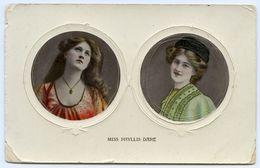ACTRESS : MISS PHYLLIS DARE / POSTMARK - GREAT MILTON (SINGLE CIRCLE) - England