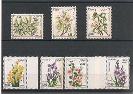 ALGÉRIE Fleurs (flowers) Années 1983-1993 Côte : 12,50 € - Algérie (1962-...)
