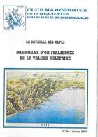 WW2 - Catalogue - Club Marcophile N°86 - Bataille Des Alpes - Propagande Italienne Cartes Postales - Cataloghi