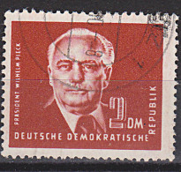 Wilhelm Pieck II 2 DM Gest. Wz. Posthorn, Geprüft Germany East DDR 326 Bedarfsgestempelt - [6] Oost-Duitsland