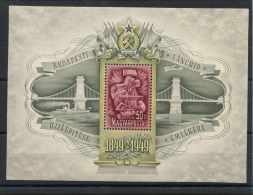 Hongrie (1949) Bloc Feuillet N 22 (Luxe) - Airmail