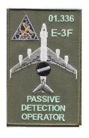X003 PATCH AIR AVIATION BOEING AWACS 36° ESCADRE DE DETECTION AEROPORTEE 01.336 E.3F MONT DE MARSAN - Patches