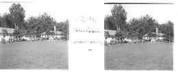 PP 16 - JEUX OLYMPIQUES DE MUNICH 1936 Village Olympique  Près Des Maisons Française - Glass Slides