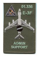 X98 PATCH AIR AVIATION BOEING AWACS 36° ESCADRE DE DETECTION AEROPORTEE 01.336 E.3F MONT DE MARSAN - Patches