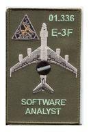 X94 PATCH AIR AVIATION BOEING AWACS 36° ESCADRE DE DETECTION AEROPORTEE 01.336 E.3F MONT DE MARSAN - Patches