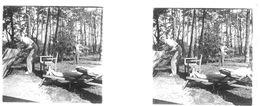 PP 20 - JEUX OLYMPIQUES DE MUNICH 1936 Village Olympique  Après Déjeuner - Glass Slides