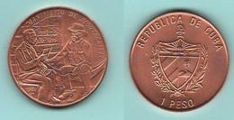 Cuba Un Peso 1994 Manifiesto  Montecristi - Cuba