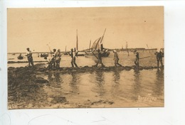 Pêche Des Huitres Sur La Côte Charentaise à La Marée Montante.... Cp Vierge Ostréiculture - Fishing