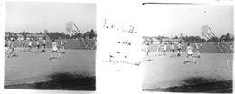 PP 24 - JEUX OLYMPIQUES DE MUNICH 1936 Entrainement De Basket-ball - Glass Slides