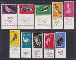 ISRAEL AERIENS N°   28 à 37 ** MNH Neufs Sans Charnière, TB (D5969) Oiseaux Divers - Airmail