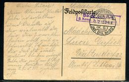 Allemagne - Oblitération Militaire Sur Belle Carte Postale En 1915 En Feldpost - Ref M11 - Allemagne