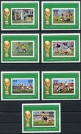 Sao Tome E Principe, St. Thomas, 1978, Soccer World Cup Argentina, Football, MNH Imperforated, Michel Block 18-24 - Sao Tome Et Principe