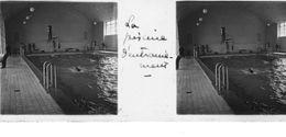 PP 25 - JEUX OLYMPIQUES DE MUNICH 1936 La Piscine D'entrainement - Glass Slides
