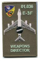 X82 PATCH AIR AVIATION BOEING AWACS 36° ESCADRE DE DETECTION AEROPORTEE E.3F 1E Escadron AVORD 01.036 - Patches