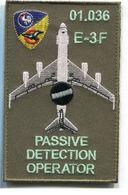 X81 PATCH AIR AVIATION BOEING AWACS 36° ESCADRE DE DETECTION AEROPORTEE E.3F 1E Escadron AVORD 01.036 - Patches