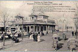 Pavillon De L'Indo Chine - Exposition Franco Britannique, Londres,1908 - Traversée Boulogne-Folkestone Pouss-Pouss - Expositions