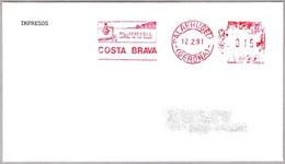 Turismo En COSTRA BRAVA. Palafrugell, Gerona, 1991 - Vacaciones & Turismo