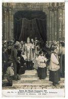 Photo-CARTE Salon De L'ecole Française 1912- Mgr Delamaire Benissant Les Enfants-Voyagee - Religions & Croyances