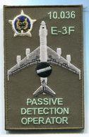 X72 PATCH AIR AVIATION BOEING AWACS 36° ESCADRE DE DETECTION AEROPORTEE 10.036 E.3F AVORD - Patches