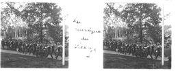 PP 29 - JEUX OLYMPIQUES DE MUNICH 1936 La Musique Au Village - Glass Slides