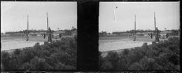PP 32 - JEUX OLYMPIQUES DE MUNICH 1936 Le Sautoir - Glass Slides