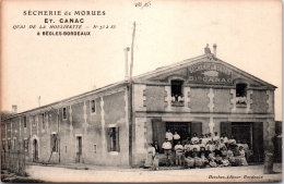 33 BEGLES - Sècherie De Morues, Etablissement CANAC - France