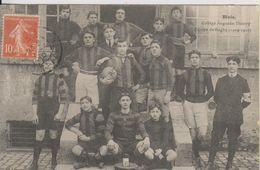 D41 - BLOIS - COLLEGE AUGUSTIN THIERRY - EQUIPE DE RUGBY - (1909-1910) - Blois