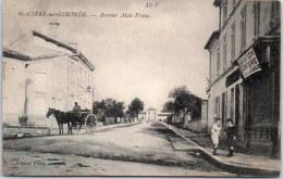 33 SAINT CIERS SUR GIRONDE - Avenue Alcée Froin - France