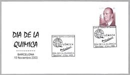 DIA DE LA QUIMICA - CHEMISTRY DAY. Barcelona 2003 - Química