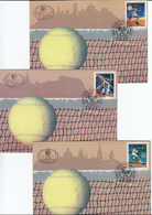 Yugoslavia 1997 Tennis Tournaments, Sport, FDC - Tennis