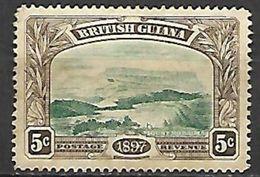 GUYANE  Britannique  -   1898 .  Y&T N° 90 (*) - British Guiana (...-1966)