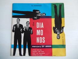 EP 45 Giri - THE DIAMONDS - Little Darling - 45 G - Maxi-Single