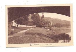L 9200 DIEKIRCH, An Der Sauerbrücke, 1933, Bahnpost Trois Vierges - Luxemburg - Diekirch