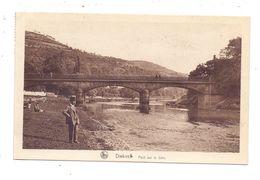 L 9200 DIEKIRCH, Sauerbrücke, 1933, Bahnpost Trois Vierges - Luxemburg - Diekirch