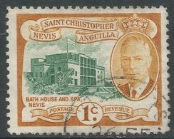 St Kitts-Nevis. 1952 KGVI. 1c Used. SG 94 - St.Christopher-Nevis-Anguilla (...-1980)