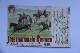 37675  -   Köln  Internationale  Rennen    1898 - Koeln