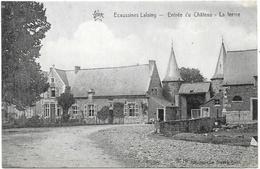Ecaussinnes-Lalaing NA15: Entrée Du Château. La Ferme 1921 - Ecaussinnes